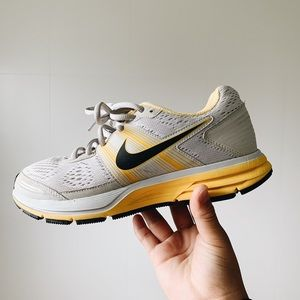 Nike yellow livestrong sneakers